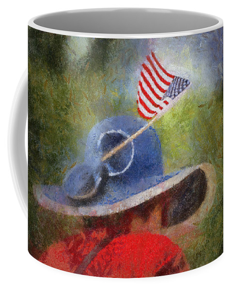 Flag Coffee Mug featuring the photograph American Flag Photo Art 06 by Thomas Woolworth