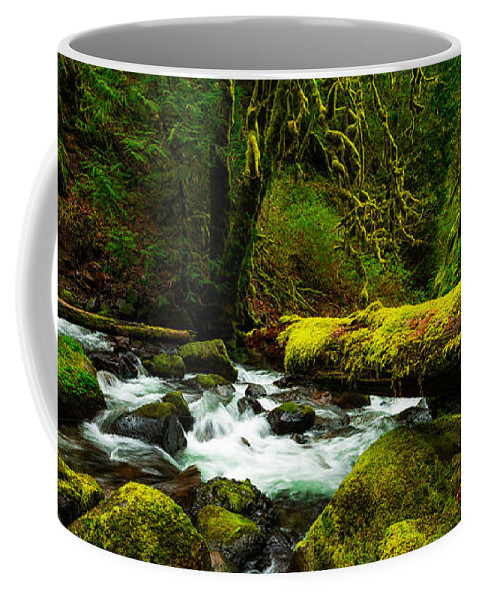 Northwest Coffee Mug featuring the photograph American Jungle by Chad Dutson