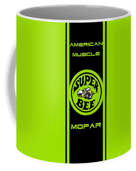 Vintage Coffee Mug featuring the photograph American Muscle - Mopar by Sennie Pierson