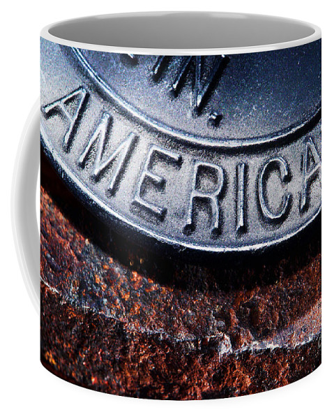 American Coffee Mug featuring the photograph American by Olivier Le Queinec