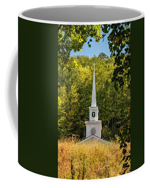 Church Coffee Mug featuring the photograph Amidst The West Virginia Woods by Steve Harrington
