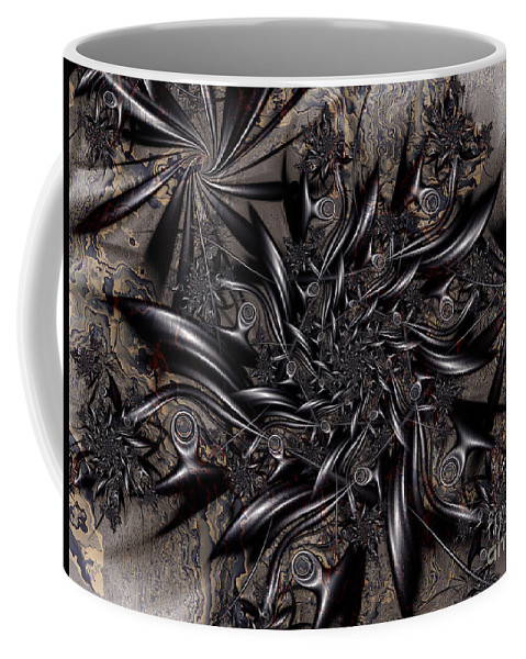 Among The Shoals Coffee Mug featuring the digital art Among The Shoals by Kimberly Hansen