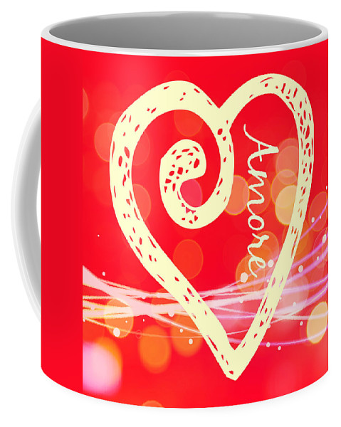 Amore Coffee Mug featuring the photograph Amore by Alice Gipson