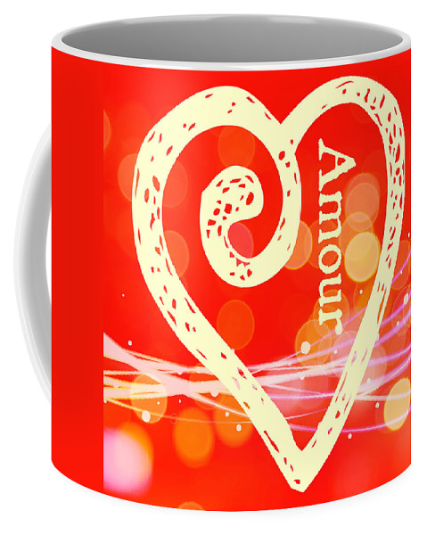 Amour Coffee Mug featuring the photograph Amour by Alice Gipson