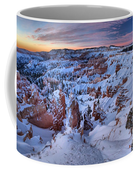 Bryce Canyon National Park Coffee Mug featuring the photograph Amphitheater Sunrise by Adam Jewell