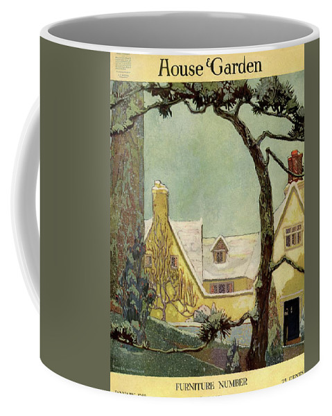 House And Garden Coffee Mug featuring the photograph An English Country House by Porter Woodruff