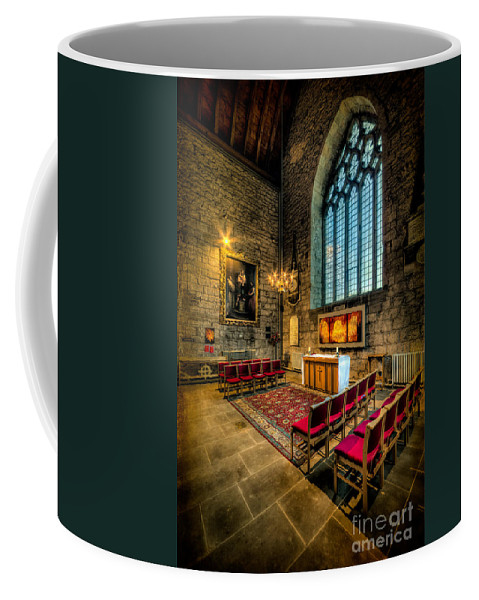 British Coffee Mug featuring the photograph Ancient Cathedral by Adrian Evans