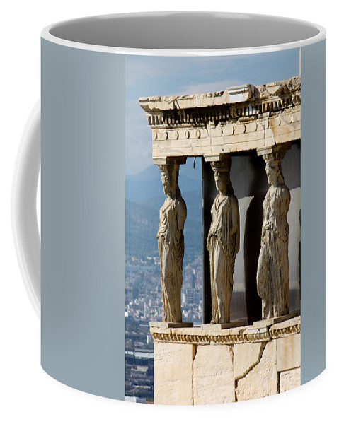 Athens Coffee Mug featuring the photograph Ancient Greece by Anthony Doudt