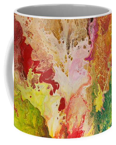 Metaphysical Paintings Coffee Mug featuring the painting Ancient Wisdom by Sally Trace