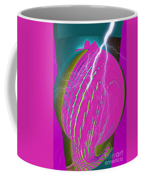 Earth Coffee Mug featuring the digital art And He Called It Earth by Luther Fine Art