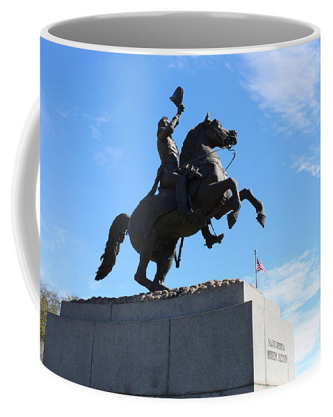 Andrew Jackson Coffee Mug featuring the photograph Andrew Jackson by Bev Conover