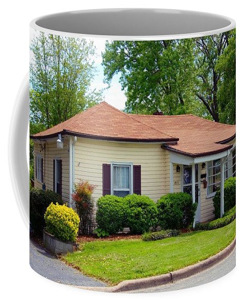 Andy Griffith Homeplace Coffee Mug featuring the photograph Andy Griffith Homeplace by Bob Pardue