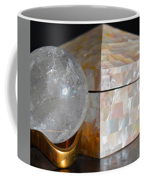 Angel Coffee Mug featuring the photograph Angel In The Window Still Life by Michele Avanti