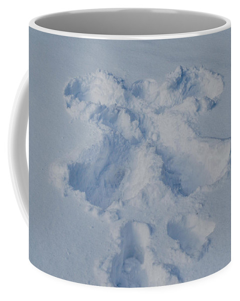 New York Coffee Mug featuring the photograph Angel On Earth by Ray Sheley