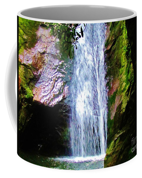 Kerisart Coffee Mug featuring the photograph Angels Bathing Room by Keri West