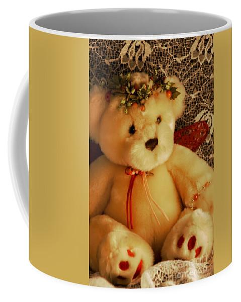 Kids Coffee Mug featuring the photograph Angle Bear by Robin Lynne Schwind