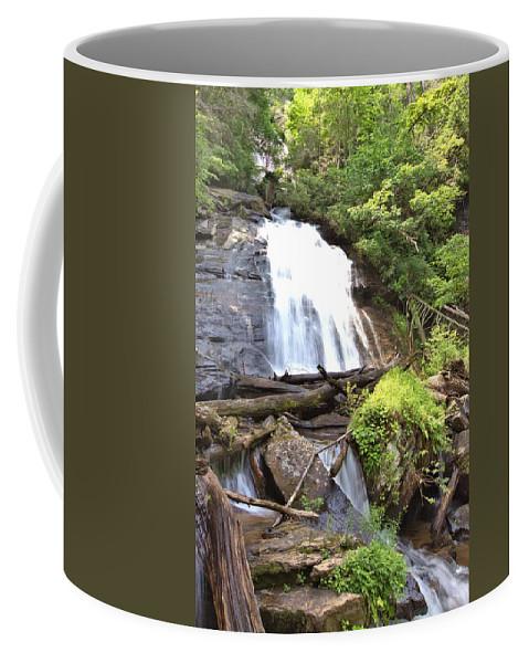 8815 Coffee Mug featuring the photograph Anna Ruby Falls - Georgia - 4 by Gordon Elwell