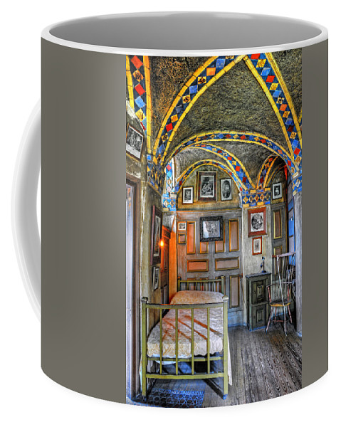 Bedroom Coffee Mug featuring the photograph Another Bedroom At The Castle by Dave Mills