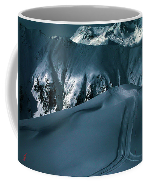Colette Coffee Mug featuring the photograph Another Late Day In The Mountains by Colette V Hera Guggenheim