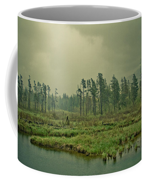 Terrain Coffee Mug featuring the photograph Another World-another Time by Eti Reid