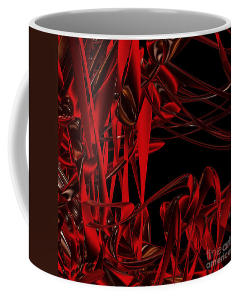 First Star Art Coffee Mug featuring the digital art Ant Fest By Jammer by First Star Art