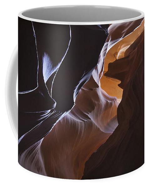 Antelope Coffee Mug featuring the photograph Antelope Canyon 20 by Ingrid Smith-Johnsen
