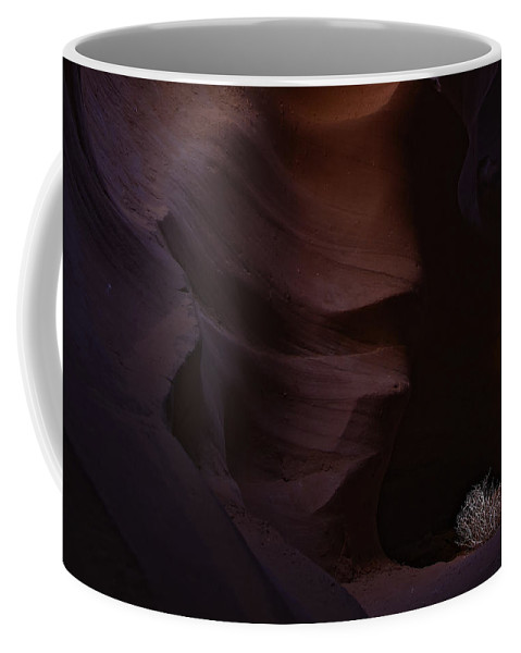 Antelope Coffee Mug featuring the photograph Antelope Canyon 38 by Ingrid Smith-Johnsen