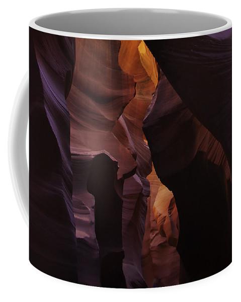 Antelope Coffee Mug featuring the photograph Antelope Canyon 36 by Ingrid Smith-Johnsen