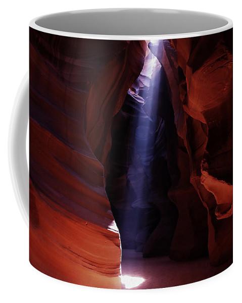 Antelope Coffee Mug featuring the photograph Antelope Canyon 3 by Ingrid Smith-Johnsen