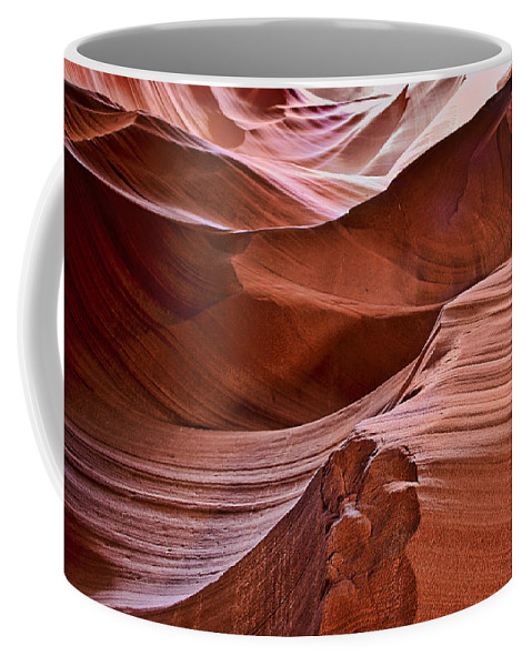Antelopescape Coffee Mug featuring the photograph Antelopescape by Wes and Dotty Weber