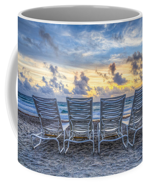 On Coffee Mug featuring the photograph Anticipation by Debra and Dave Vanderlaan