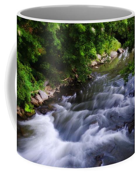 Antietam Coffee Mug featuring the photograph Antietam Creek - Maryland by Bill Cannon