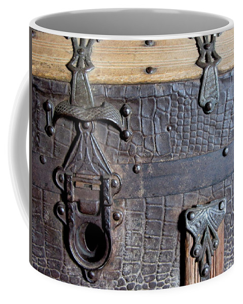 Vintage Coffee Mug featuring the photograph Antique Trunks 2 by Anita Burgermeister