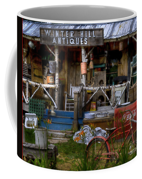 Antiques Coffee Mug featuring the photograph Antiques by Alana Ranney