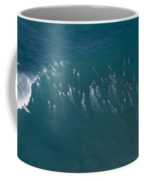 Overview Coffee Mug featuring the photograph Ants Nest by Sean Davey