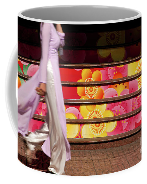 Vietnam Coffee Mug featuring the photograph Ao Dai by Rick Piper Photography