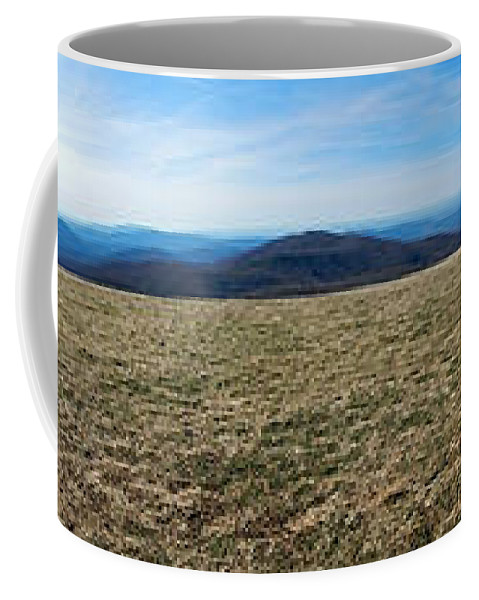 At Coffee Mug featuring the photograph Appalachain Trail Bald by Glenn Gordon
