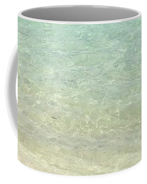 Gulf Breeze Coffee Mug featuring the photograph Aqua Blue Waters by Joseph Baril