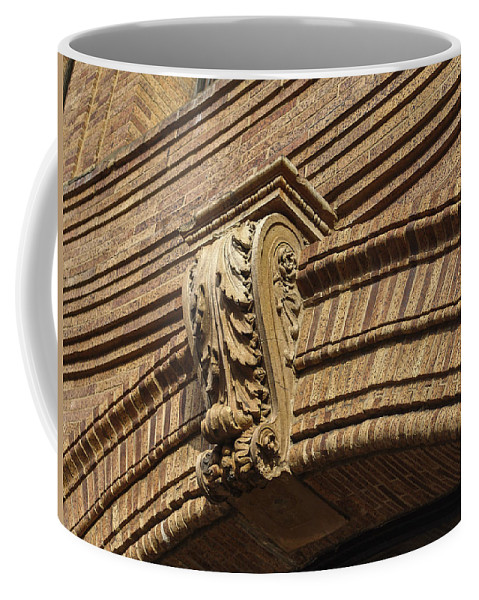 Embellishment Coffee Mug featuring the photograph Arch Key by Eric Swan