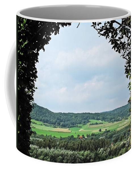 Travel Coffee Mug featuring the photograph Arch To Austria by Elvis Vaughn