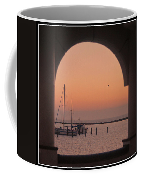 Arch Coffee Mug featuring the photograph Arch View by Leticia Latocki