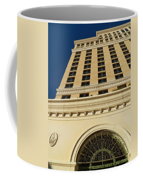 Architecture Coffee Mug featuring the photograph Arched In Iron by Jennifer Robin