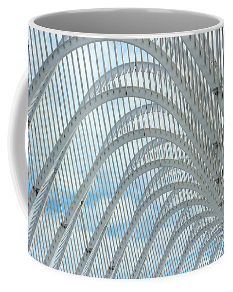 Arch Coffee Mug featuring the photograph Arches Of Steel by Grigorios Moraitis