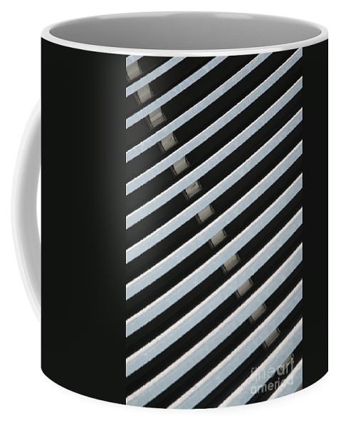 Abstract Coffee Mug featuring the photograph Architectural Detail by Deborah Benbrook