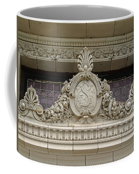 Embellishment Coffee Mug featuring the photograph Architectural Embellishments by Eric Swan