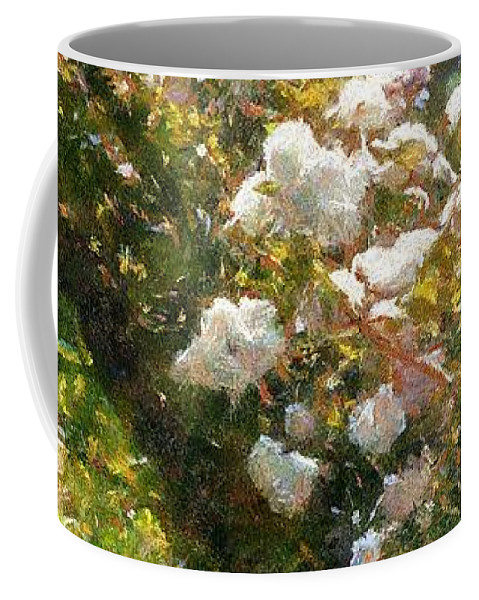 Arch Coffee Mug featuring the painting Archway Glorious by RC DeWinter