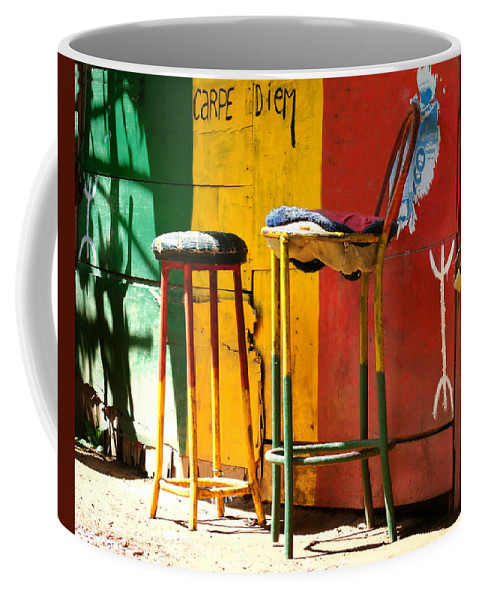 Morocco Coffee Mug featuring the photograph Are You Sitting Comfortably by A Rey