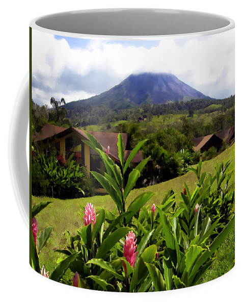 Tropical Coffee Mug featuring the photograph Arenal Costa Rica by Kurt Van Wagner