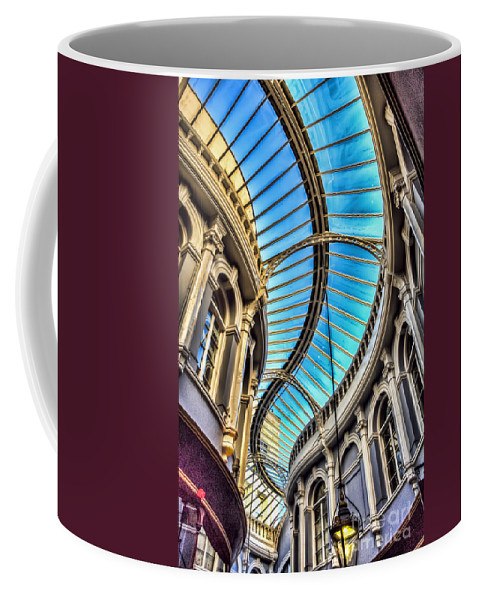 Morgan Arcade Cardiff Coffee Mug featuring the photograph Around The Bend by Steve Purnell