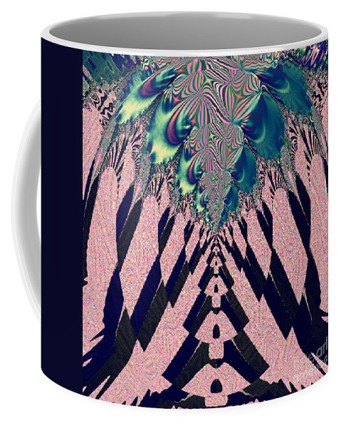 Around The Throne Coffee Mug featuring the digital art Around The Throne by Luther Fine Art